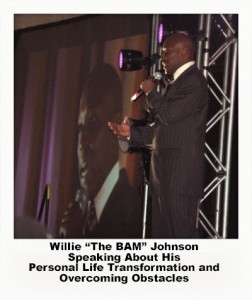 "Willie ""The BAM"" Johnson speaking at EFC Summit"